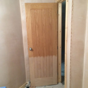 Door before being painted projects