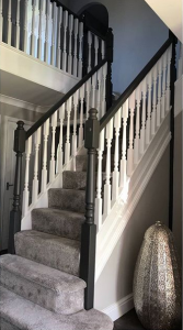 Redecoration of hall, stairs and landing