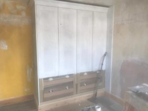 Wardrobe before makeover